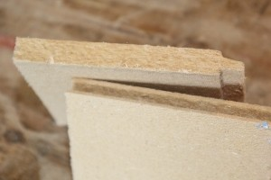 Gutex wood fibreboard, used by Eden Insulation in constructing frames for Passivhaus and other energy-efficient buildings