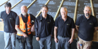The team from Eden Insulation