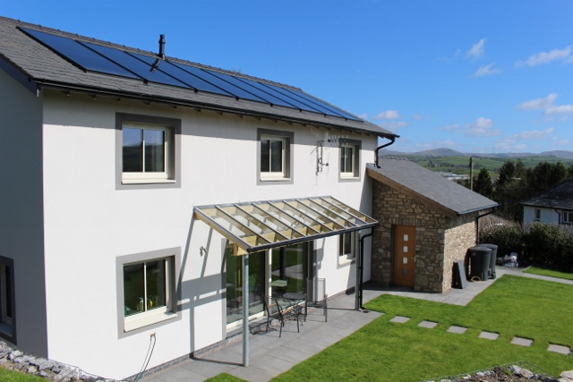 1st certified Passivhaus in Kendal - by Eden Insulation