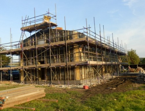Two-storey Passivhaus with home office (Oakdene Farm, Staffordshire)