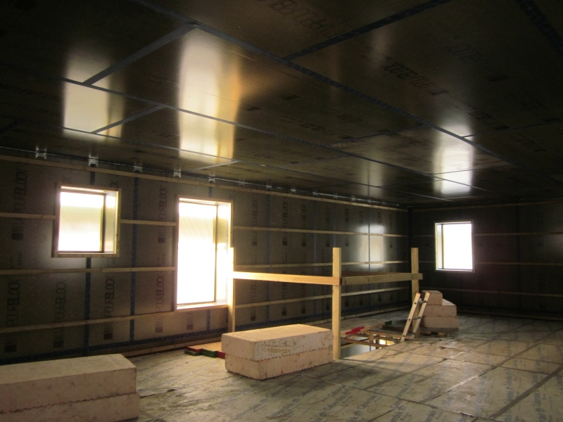 Kendal Passivhaus first floor by Eden Insulation