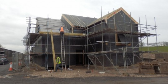 A large airtight eco house in Lancashire built by Eden Insulation