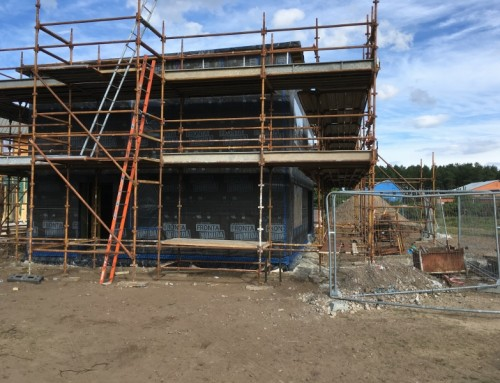 Two-storey Passivhaus spec home (Findhorn, nr Inverness)